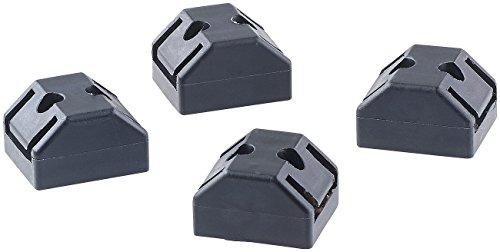 PEARL Verbindungsstücke für Magnetleisten, 4er-Set