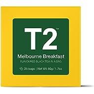 T2 Tea Melbourne Breakfast Loose Leaf Flavoured Black Teabags in Gift Cube