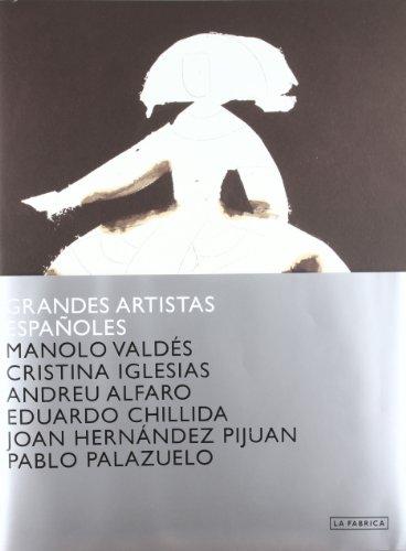 Grandes Artistas Españoles Volúmen 1: Valdés, Cristina Iglesias y Andreu Alfaro (Cuadernos de Artista)
