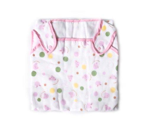 BONAMART ® Pink 77cm Newborn Baby Infant Girl Boy 6 Layer Soft Gauze Muslin Swaddler Blanket Summer Sleeping Bag 100% cotton
