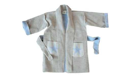 David Fussenegger 95202198 Kimono, 2-4 Jahre - Stern/Streifen (Sterne-kimono Baby)