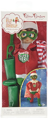 Elf on The Shelf Superhelden-Outfit