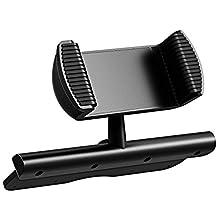 Mpow – Support de téléphone Portable Universel pour Voiture à Fixer sur Fente Lecteur CD, pour iPhone 7/6/5 Plus, Samsung Galaxy Note, HTC, Huawei, Sony, LG, HTC, etc.