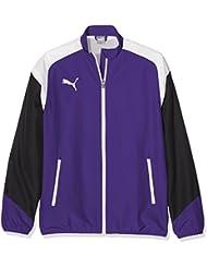 Puma Esito 4Woven Jacket Chaqueta, primavera/verano, infantil, color prism violet-puma white-ebony, tamaño 17 años (176 cm)