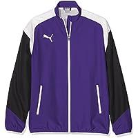 Puma Esito 4Woven Jacket Chaqueta para niños, Infantil, Color Prism Violet-puma White-Ebony, tamaño 164