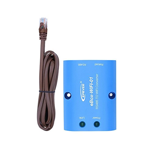 EBox-WIFI-01 WIFI Box RS485 zu WIFI Bluetooth Adapter Kommunikation Drahtlose Überwachung per Handy APP für Solar Controller Tracer A Serie Tracer-BN Serie(Wifi) -