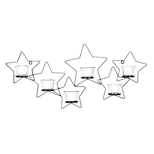 Köhler Urlaub Seasonal Weihnachten Home Decor Starlight Kerzenhalter aus Eisen Wandhalterung Wandleuchte -