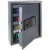 HMF 2071-11 Caja Fuerte para Llaves 71 Ganchos, con Cerradura Electrónica, 46