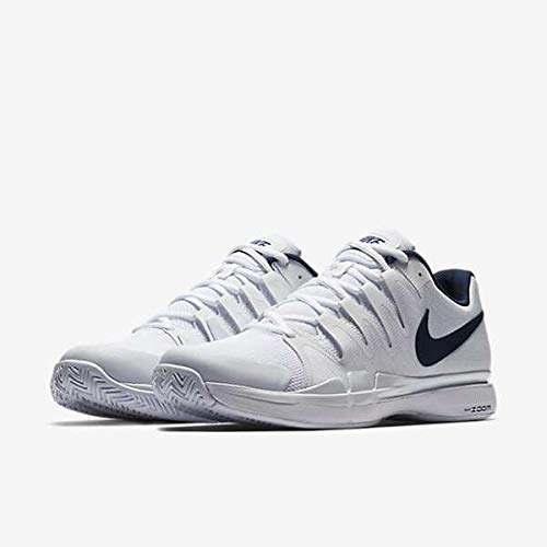 Nike Scarpe Zoom Vapor 9.5 Tour White Blue Fall 2017-40,5