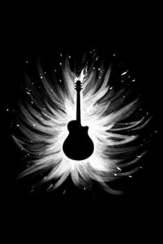Notebook: Guitar Tab Tablature Notebook (6