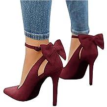 Herrlich Rotwein Farbe echt Stiefeletten Elegante mit