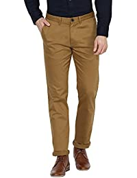 Red Tape Men's Slim Fit Cotton Casual Trousers