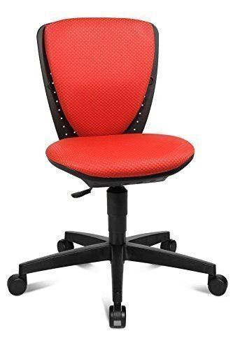 Topstar Kinder Drehstuhl Bürostuhl Sitness S`Cool rot, 3-D Sitzgelenk