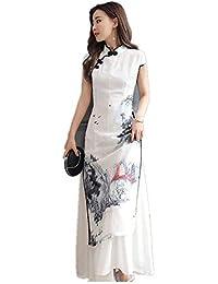6da52089bce2 H-M-STUDIO Cheongsam retrò in Stile Cinese per Migliorare L Abito Sexy  Cheongsam Moda