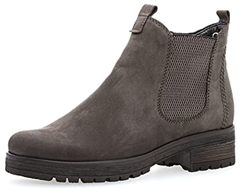 Gabor Shoes Damen Comfort Sport Stiefel, Grau (49 Vulcano (Micro)), 39 EU