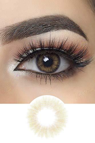 Spanish Natürlich Aussehend Kontaktlinsen (Real Hazel)