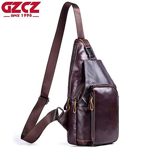 KQYAN-bag Modische, einfache und mittlere Reißverschluss Retro-Tasche für Herren Büstenhalter, maximaler Raum (Color : Yellow, Size : S) -