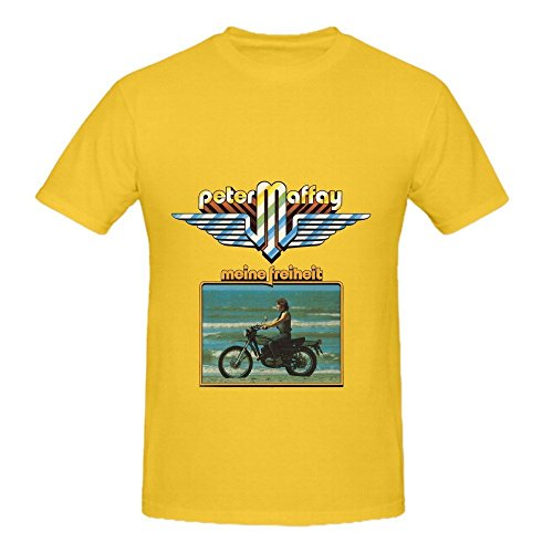 Peter Maffay Meine Freiheit Roll Herrens O Neck Cute Tee Shirts X-Large