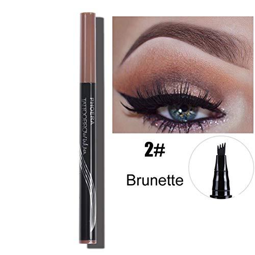 Eyebrow Pencil Augenbraue Tattoo Automatisch Wasserdicht Augenbrauenfarbe Stift Augenbrauenstift...