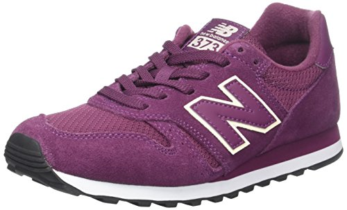 Balance New School Old (New Balance Damen Sneaker, Rot (Burgundy), 40.5 EU (7 UK))