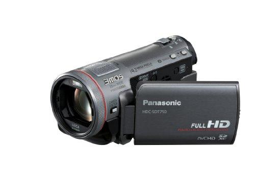 Panasonic HDC-SDT750EG Full HD 3D Camcorder (SD-Kartenslot, 12-fach opt. Zoom, 7,6 cm (3 Zoll) Display, Bildstabilisator) schwarz - 4