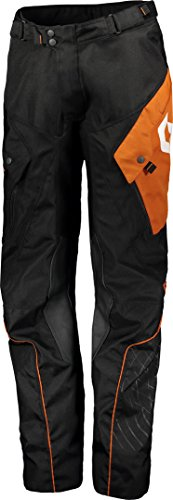 Scott 350 ADV Moto Pantalon Noir/orange 2018