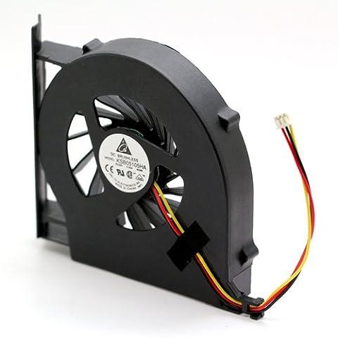 Ventilateur compatible pour ordinateur PC Portable HP Compaq Presario CQ71-414SF, DC 5V 1.75W, NEUF garanti 1 an, FAN, NOTE-X / DNX
