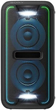 Sony - Sistema estéreo (bluetooth, NFC, extra bass, luces LED, efectos de DJ)