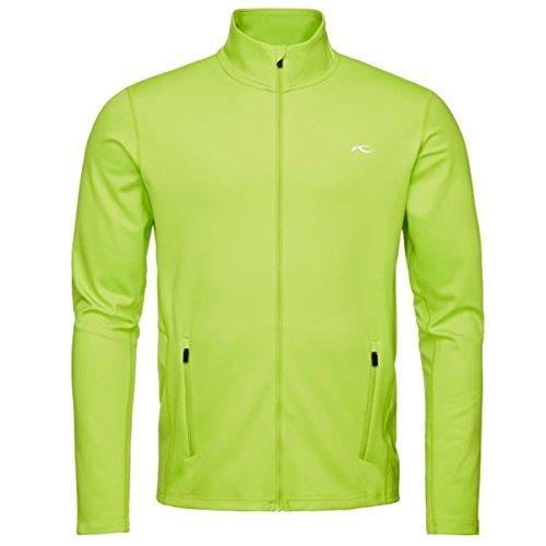 Kjus Herren Midlayer Ski Unterziehjacke CALIENTE MS25-A03.45900 grün Gr.52