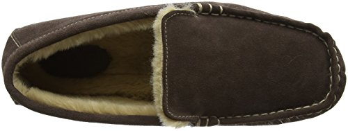 Ruby and Ed Mens Chocolate Suede Moccasin, Basses homme Brown (Chocolate)