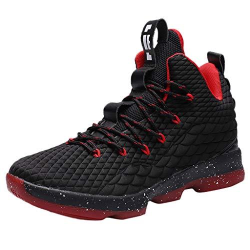 Herren Sneaker Laufschuhe Air Sportschuhe Turnschuhe Running Fitness Sneaker Outdoors Straßenlaufschuhe Sports Basketballschuhe Hohe Schuhe -Schützender Knöchel