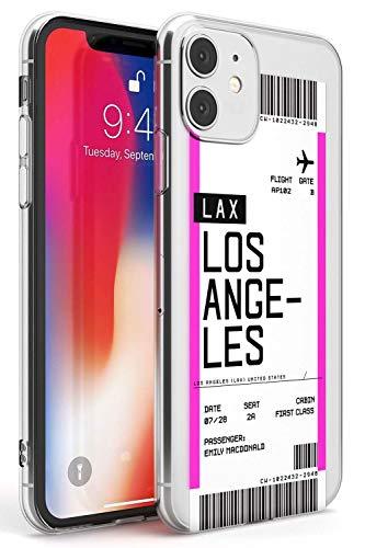 Boarding Pass Personalizada De Entradas: Los Angeles