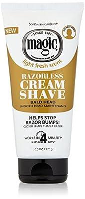 Magic Smooth Razorless Hair-Removing Cream 6oz/170g