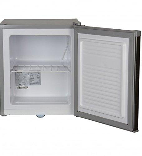 Igenix IG6751 Counter Top Freezer with Lock, 35 Litre, (44cm)Stainless Steel