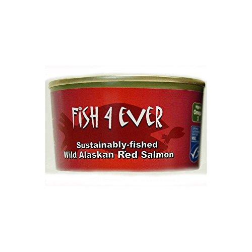 Poissons 4 Ever saumon sauvage d'Alaska Rouge (de 213g) - Paquet de 6