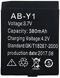 OCTelect Reloj Inteligente Batería AB-Y1 Batería de Litio Recargable con Capacidad 380MAH