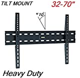 """Gadget-Wagon Tilting Wall Mount Stand for 37 """" 40"""" 42"""" 50"""" 52"""" 48"""" 55"""" 56"""" 60"""" 65"""" 70"""" inch lcd led monitor Tv"""