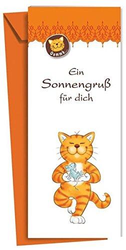 Preisvergleich Produktbild Oommh-Katze: Ein Sonnengruß für dich: Leporello