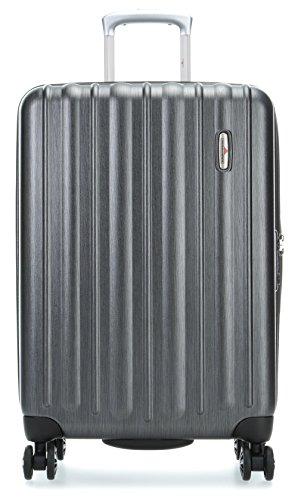 Hardware Profile Plus 4-Rollen-Trolley 77 cm metallic Grey Brushed