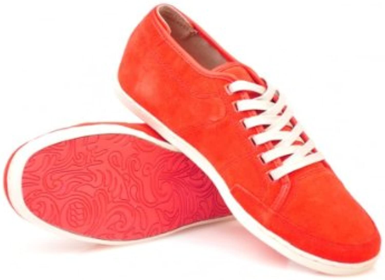 Boxfresh Sparko Schuh Halbschuh Suede soft red rot Schuhe E 11170 Sneaker
