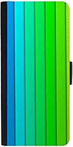 Snoogg Flow Design 2379 Graphic Snap On Hard Back Leather + Pc Flip Cover Son...