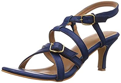 Bata Women's Adriana Blue Fashion Sandals - 3 UK/India (36 EU) (7619137)