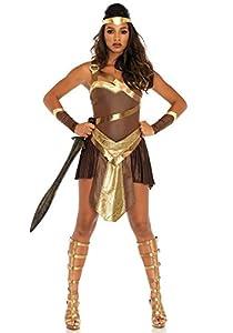 Leg Avenue- Mujer, Color marrón, Large (EUR 42-44) (86671 07703-077-L)