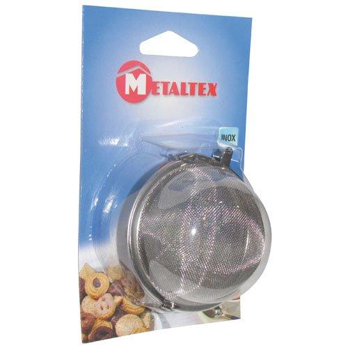 Metaltex 253830010 Tee und Gewürzkugel 7,5 cm mit Kette aus Edelstahl