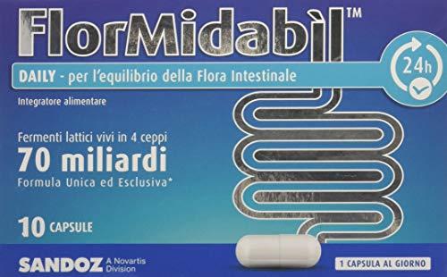 Flormidabil daily capsule - pacco da 10 pezzi x 1.5 g
