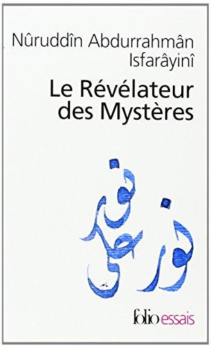 Le Rvlateur des Mystres: Trait de soufisme