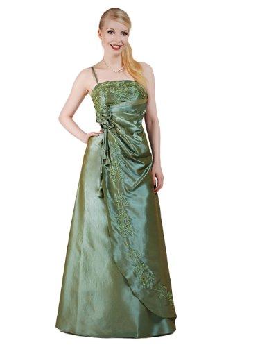 Austen - 1006 LYDIA Abendkleid 1-teilig Grün Gr.38-44 Grün