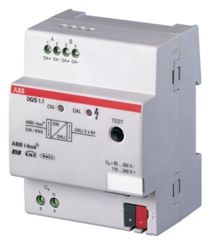Preisvergleich Produktbild ABB DG/S1.1 EIB/KNX DALI-Gateway, 1-fach, REG