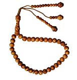 Ramadan spezielle natürlich Duft 33-bead Kiefer Pitch Holz Gebetskette rosary- 8mm Holz tasbih, tespih Holzperlen