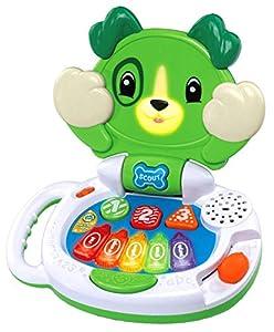 LeapFrog- Peek-a-Boo LapPup, Color Verde (Vtech 606103)